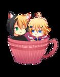 -- Gift: Eli and Leo -- by Kurama-chan