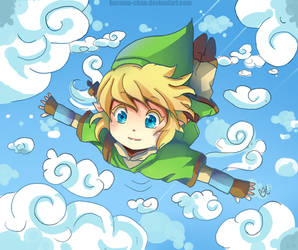-- Link Skyward Sword Chibi -- by Kurama-chan