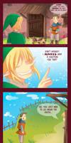 -- Zelda : Link and the broken vase --
