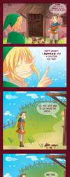 -- Zelda : Link and the broken vase -- by Kurama-chan