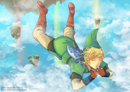 -- Collab: Link Skyloft Jump --
