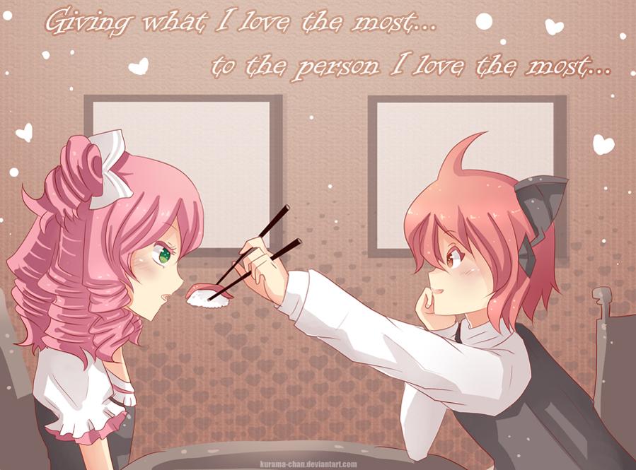 -- Happy Valentine's Day -- by Kurama-chan