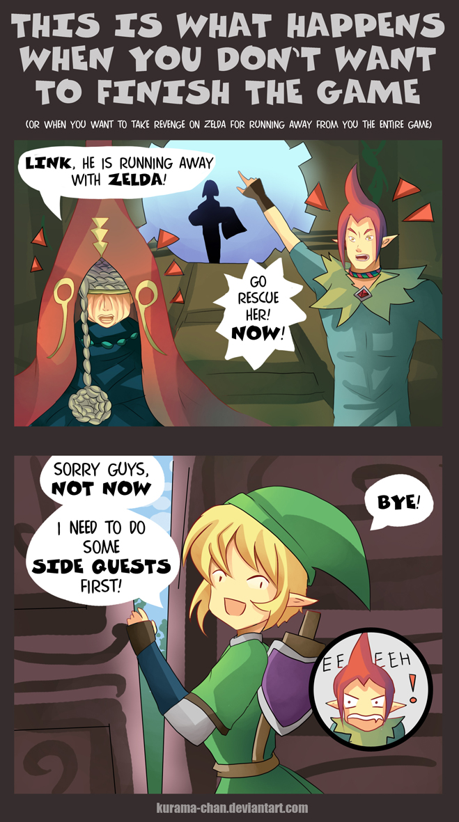 -- SS Zelda: Almost in the end -- by Kurama-chan