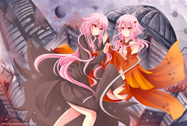 -- Inori x Yuno crossover -- by Kurama-chan