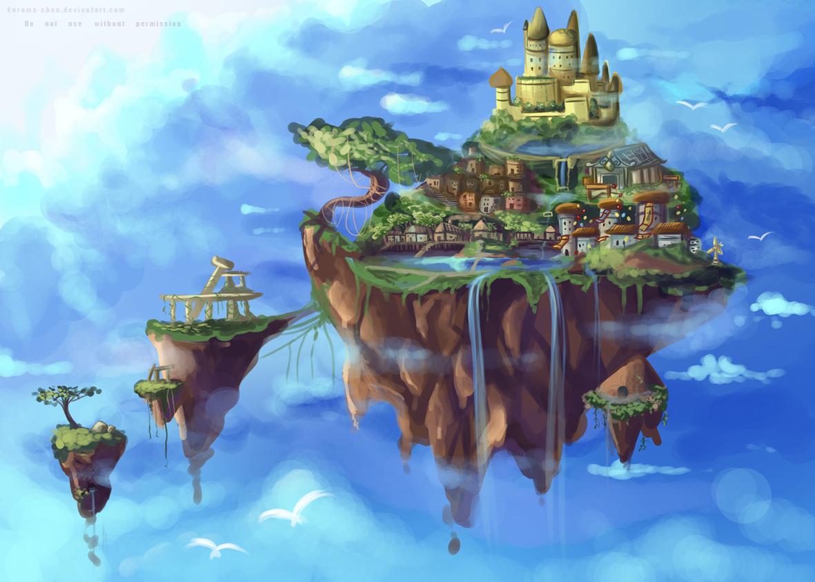 practice floating isla...