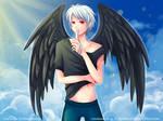 -- Comission for InsaneRoman -- by Kurama-chan
