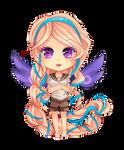 -- Chibi commission for DarkSaph -- by Kurama-chan