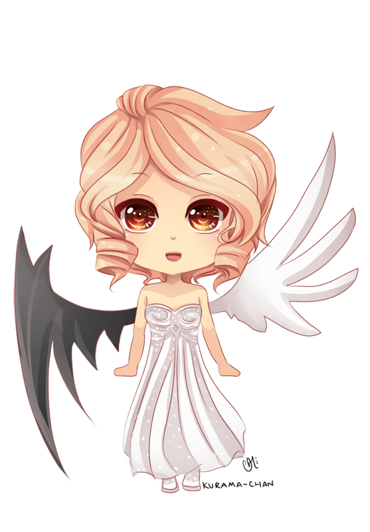 -- Chibi commission for DarkSaph 2 -- by Kurama-chan