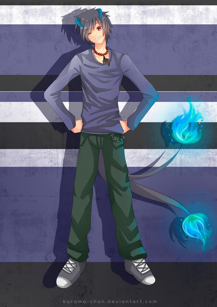 -- Commission for Baka-Duan98 -- by Kurama-chan