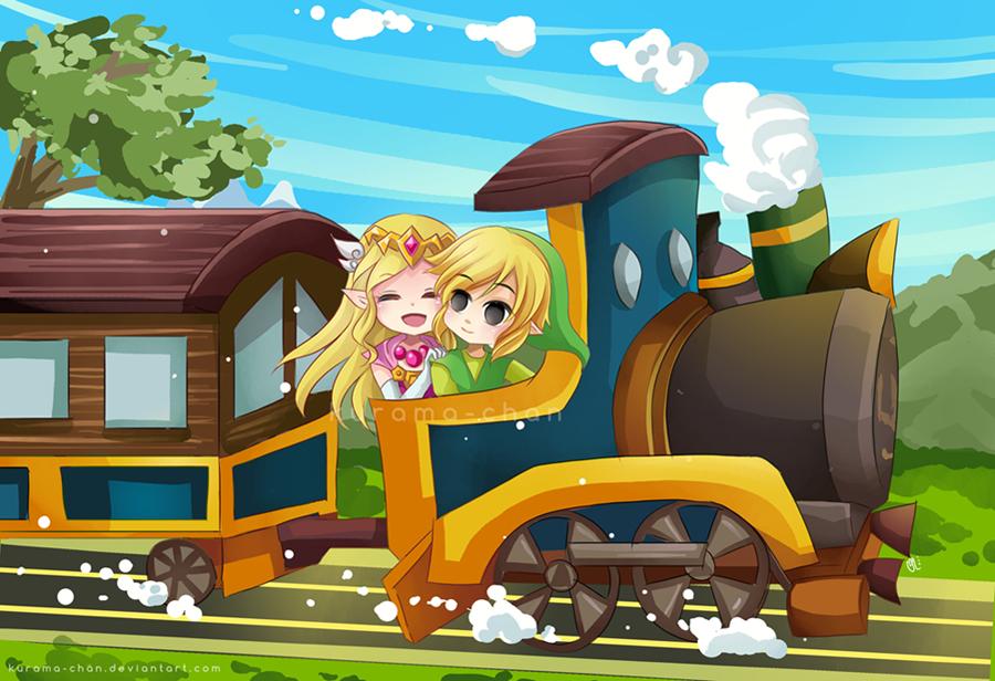 -- Legend of Zelda : Spirit Tracks -- by Kurama-chan