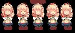 -- Chibi Commission for OdinForce -- by Kurama-chan