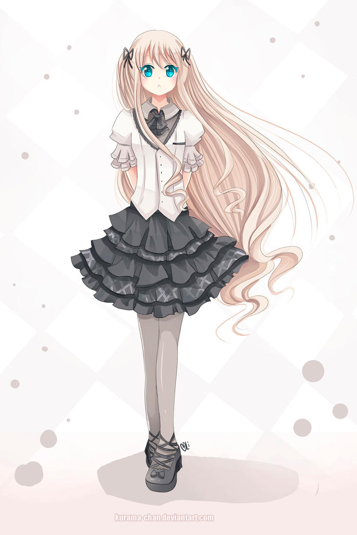 -- Melissa School Outfit -- by Kurama-chan