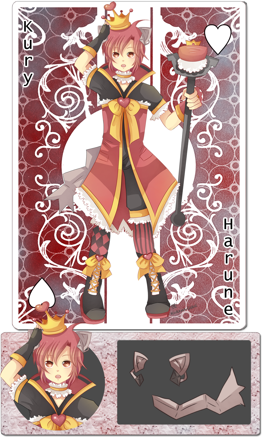 -- Vorpal Sonata: King of Hearts Kury -- by Kurama-chan