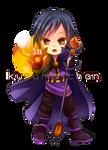 -- Chibi magician commission for Guardian BR -- by Kurama-chan