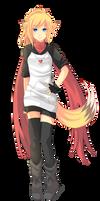 -- Commission for Kaosfox : Fox girl --