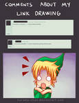 -- Zelda: About comments in my Link drawings --