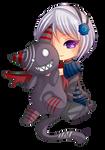 -- Chibi commission for StupidUsagiSan -- by Kurama-chan