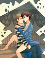 -- Ghey-Day-Exchange : Watson x Sherlock -- by Kurama-chan