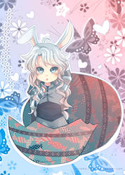 -- Happy Belated Easter -- by Kurama-chan