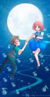 -- Speedpaint: To the Moon --