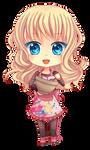 -- Chibi Commission for elephianeco -- by Kurama-chan