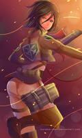 -- Shingeki no Kyojin : Mikasa --