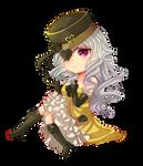 -- Chibi Commission for miikarin -- by Kurama-chan