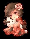 -- Chibi commission for Cissnei -- by Kurama-chan