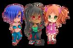 -- Chibi Commission for CyronTanryoku --