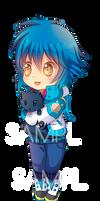 -- DMMD: Chibi Aoba Keychain Sample --
