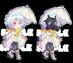 -- DMMD: Chibi Clear Keychain Sample --