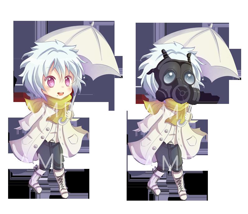 -- DMMD: Chibi Clear Keychain Sample -- by Kurama-chan on ...