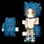 -- DMMD: Chibi Ren Keychain Sample --