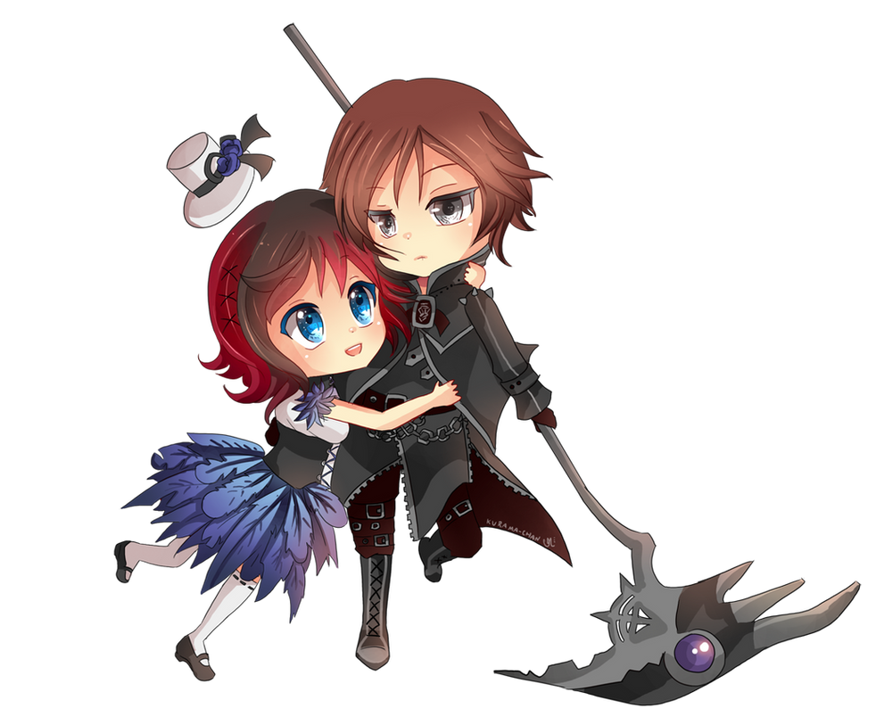 -- Chibi couple Commission for Darkehlicious 02 -- by ...
