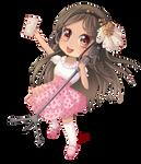 -- Chibi Commission for Moonflowfairy -- by Kurama-chan