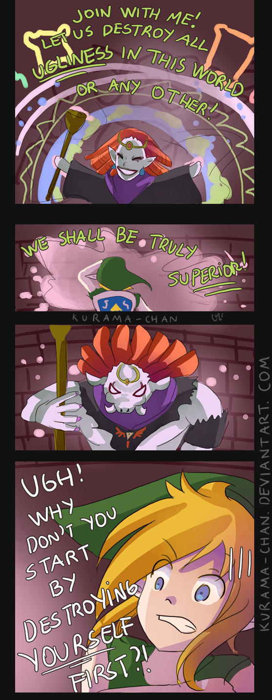 -- Zelda : A Link Between Worlds comic -- by Kurama-chan
