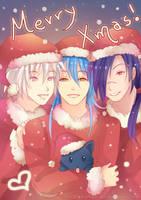 -- Merry DMMD Xmas -- by Kurama-chan