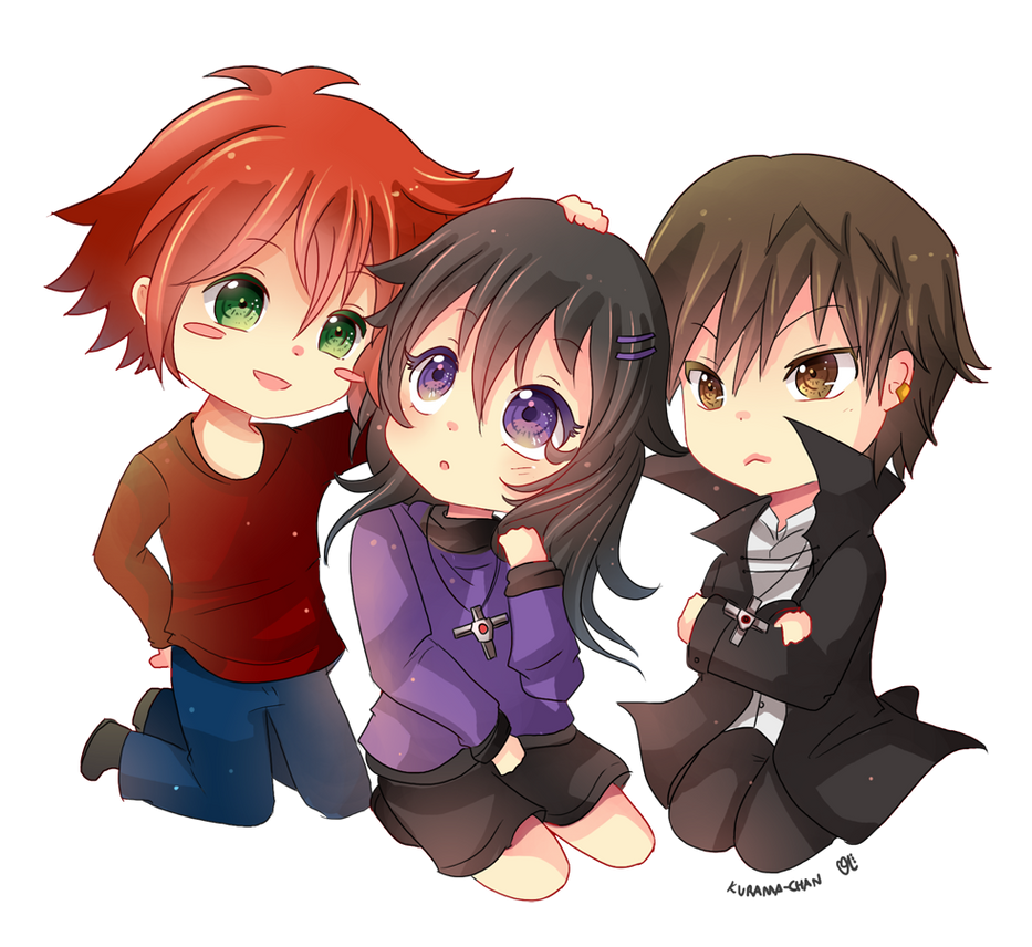 -- Chibi Commission for Xx-Misericorde 01 -- by Kurama-chan