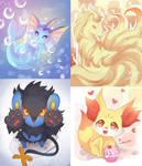 -- Pokemons --
