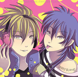-- Crossover: DMMD x Lucky Dog -- by Kurama-chan
