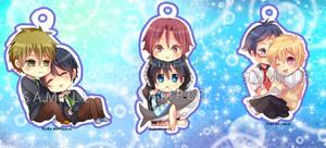 -- Free chibi keychains : Couples type --