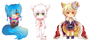 -- Chibi Commissions for Vibrant-Snow --