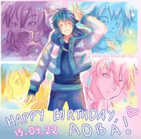 -- DMMD: Happy Birthday Aoba 2015 ! --