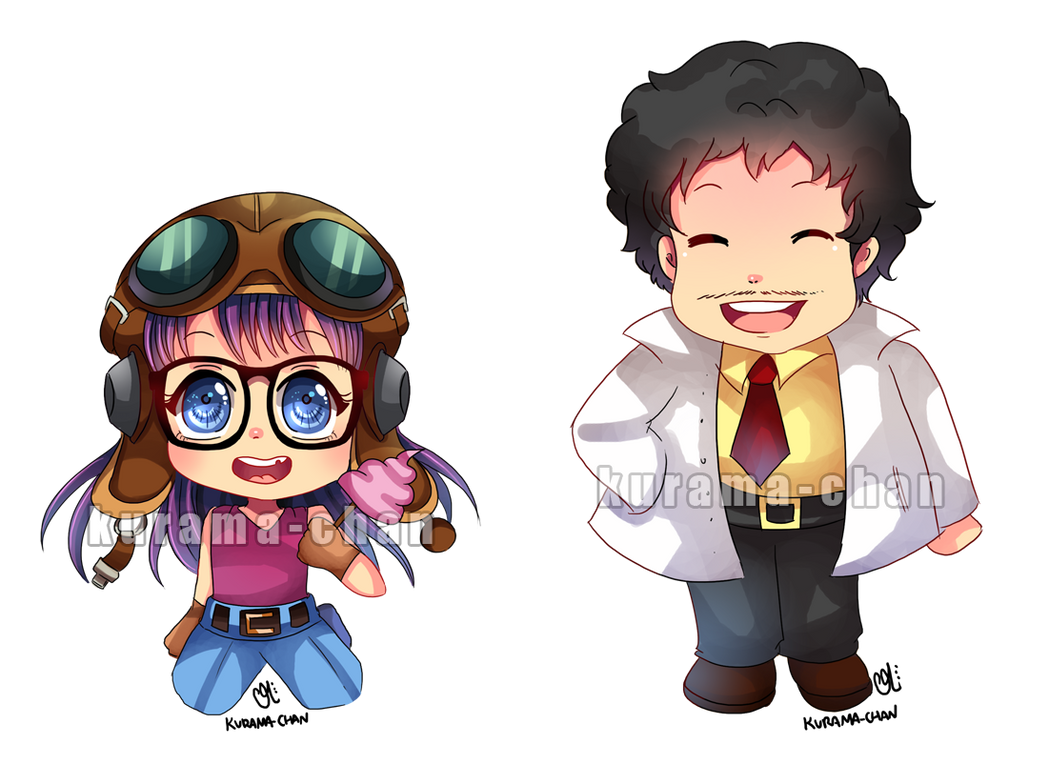 -- Chibi commission : Dr Slump -- by Kurama-chan