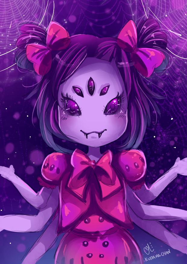 -- Undertale : Muffet -- by Kurama-chan