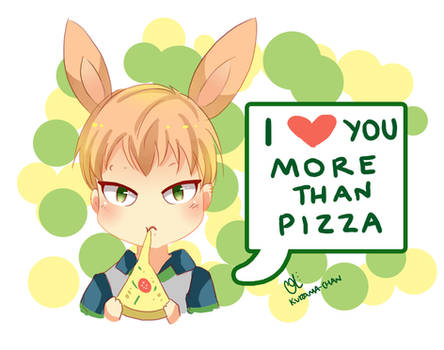 -- DMMD : I love you more than pizza --