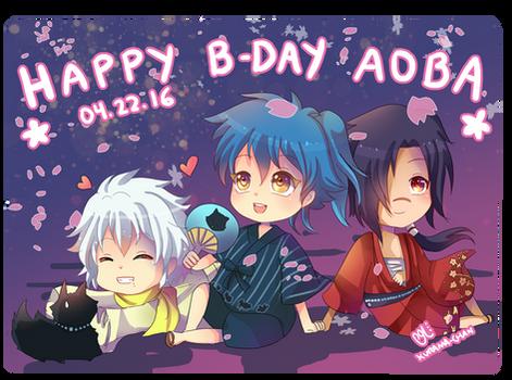 -- DMMD : Happy Birthday Aoba 2016 --