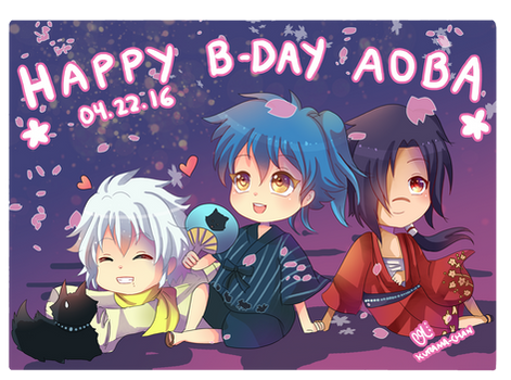 -- DMMD : Happy Birthday Aoba 2016 --