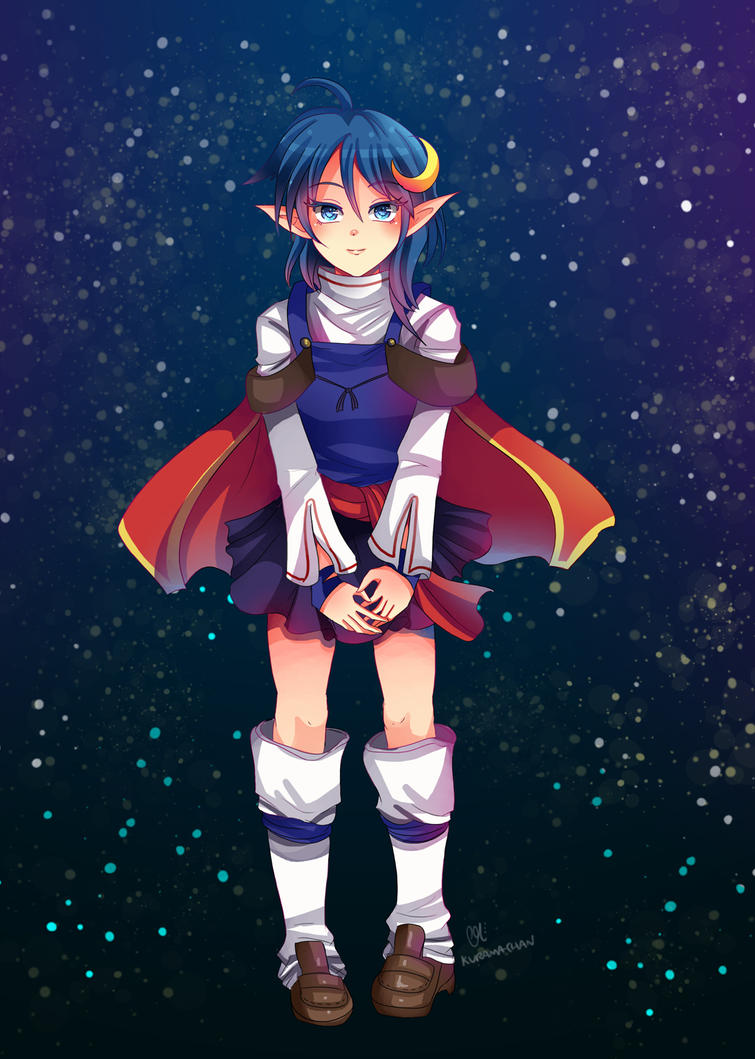 -- Commission: Rena from Star Ocean -- by Kurama-chan