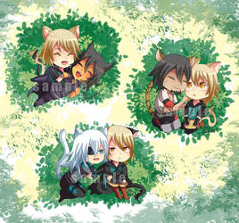 -- Lamento set of chibis --